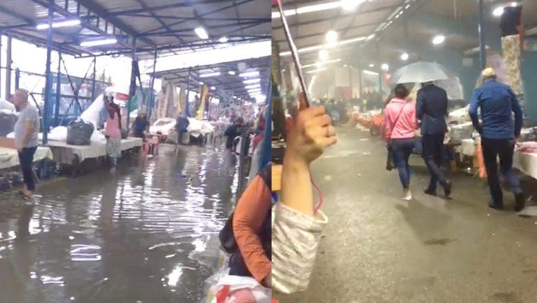 'Sosyete'yi yağmur vurdu