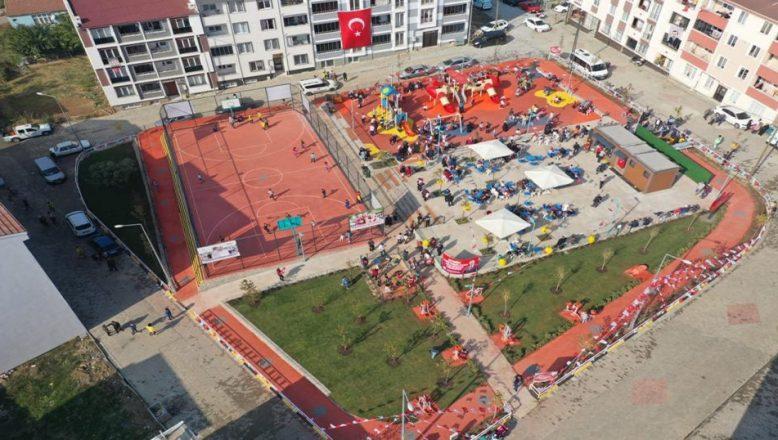 29 Ekim Barış Pınarı Parkı hizmete açıldı