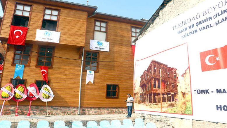 Tekirdağ'da Türk-Macar Kültür Evi açıldı