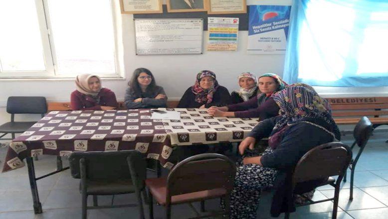Kadın çiftçilere kooperatifçilik ve sağım hijyeni eğitimi