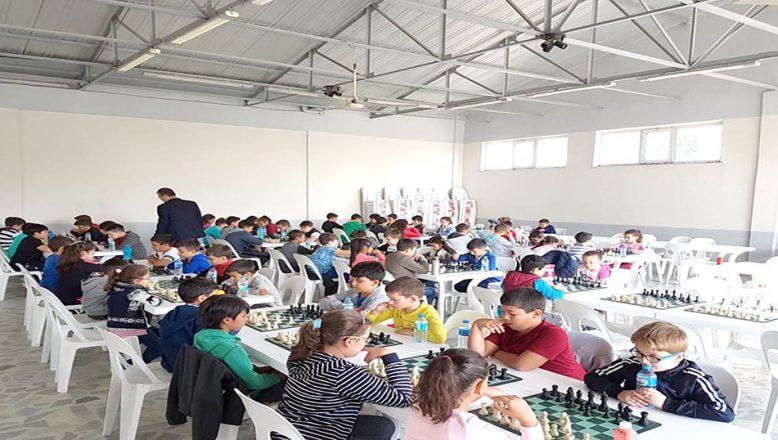 Malkara'da satranç turnuvası düzenlendi