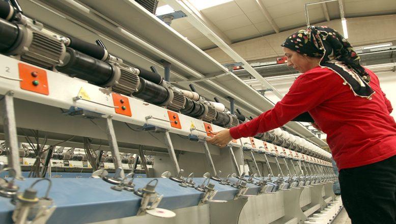 Çerkezköy'de ihracatın lokomotifi tekstil sektörü