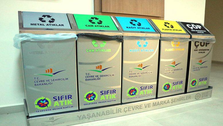 Tekirdağ'da kamu kurumlarından 40 bin 596 ton atık toplandı