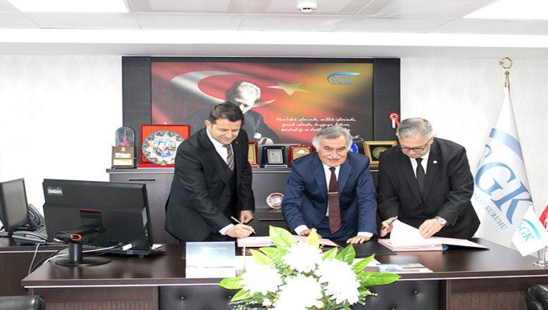 Kırklareli'nde protokol imzalandı