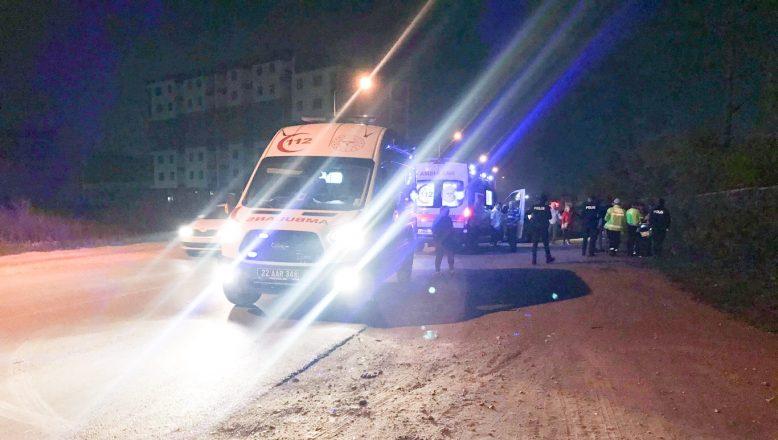 Güney Çevre Yolunda kaza; 3 yaralı
