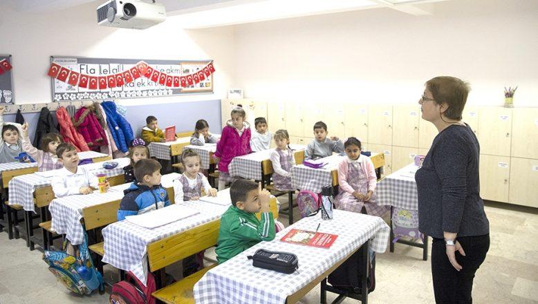 Öğrenciler ara tatil sonrası ders başı yaptı
