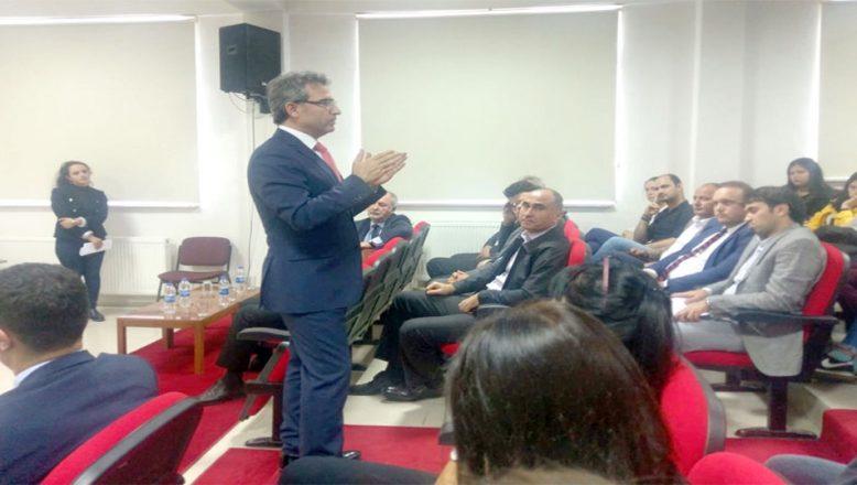 Başsavcı Karabacak, tecrübelerini paylaştı