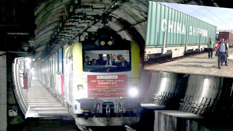 """""""İpek Yolu"""" treni Edirne'ye ulaştı"""