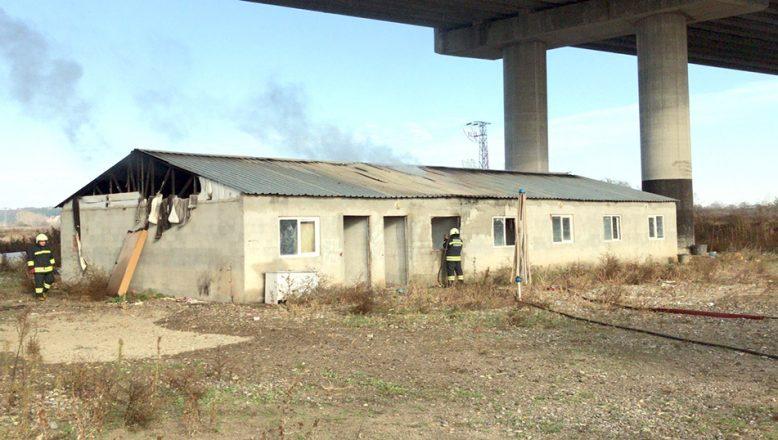 Edirne'de depo yangınında maddi hasar meydana geldi