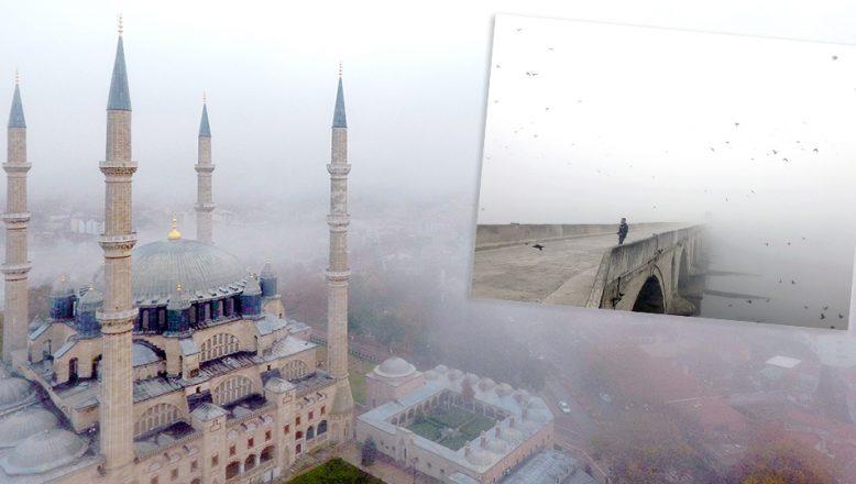 Yoğun sis etkili oldu