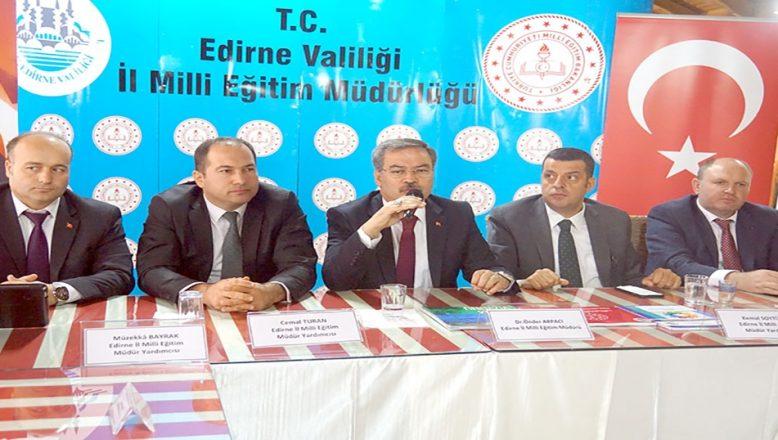 Eğitimde Edirne'nin 2023 vizyonu anlatıldı