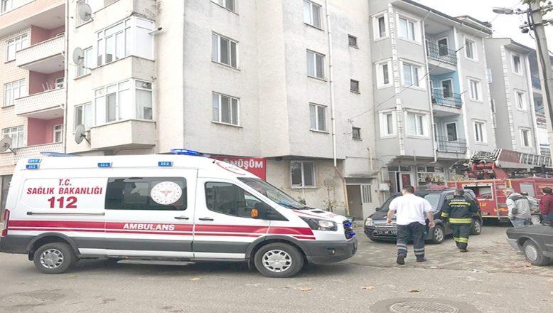 Edirne'de ev yangını