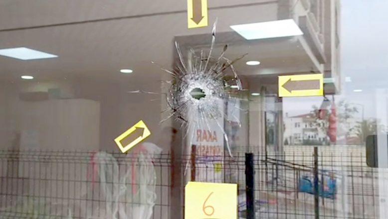 Yerel gazete bürosuna silahlı saldırı