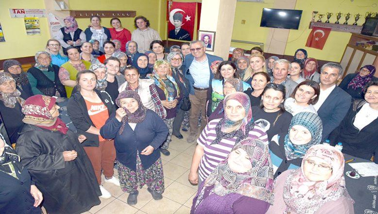 Aksal ve Helvacıoğlu İzzetİkram Pazarı heyecanına ortak oldu