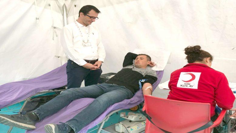 Edirne'de kan bağışında artış yaşanıyor