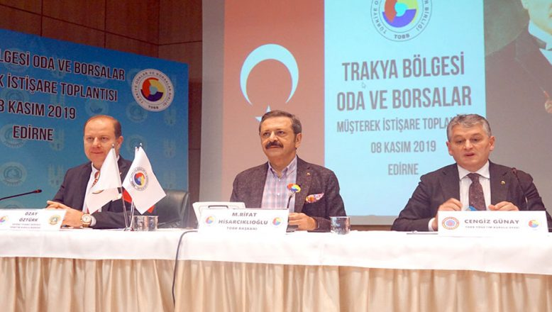 """""""Edirne'ye önemli yatırımlar yaptık"""""""