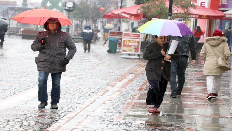 Edirne için kuvvetli yağış uyarısı!