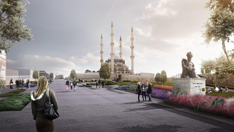 Selimiye Camii çevre düzenleme projesi onaylandı