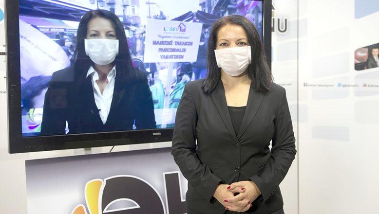 Lösemi hastalarına maskeli destek