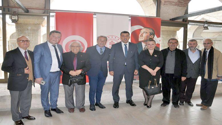 Soytürk'e 'hayırlı olsun' ziyareti