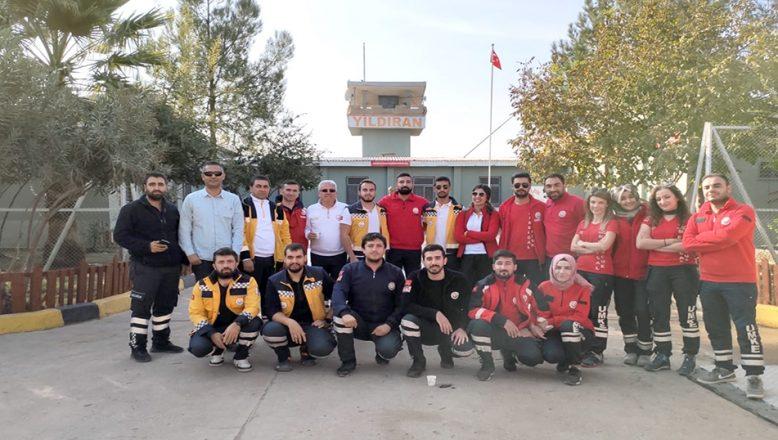 UMKE Edirne'ye döndü