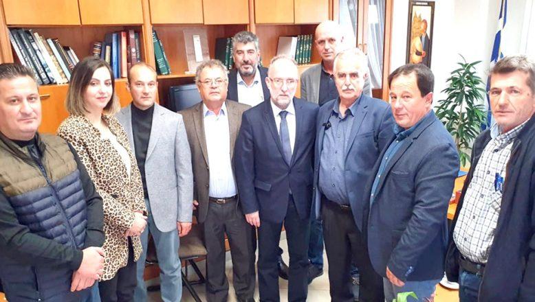 Maronya Belediyesi'ni ziyaret etti