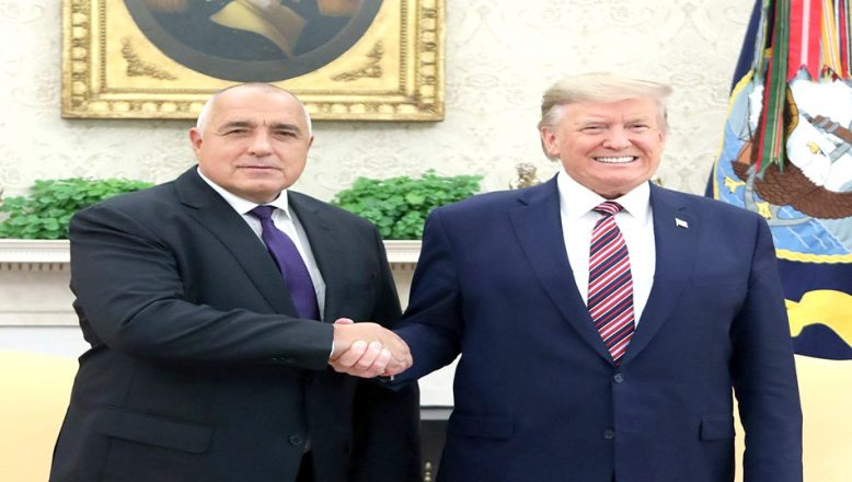 Borisov, Trump ile bir araya geldi