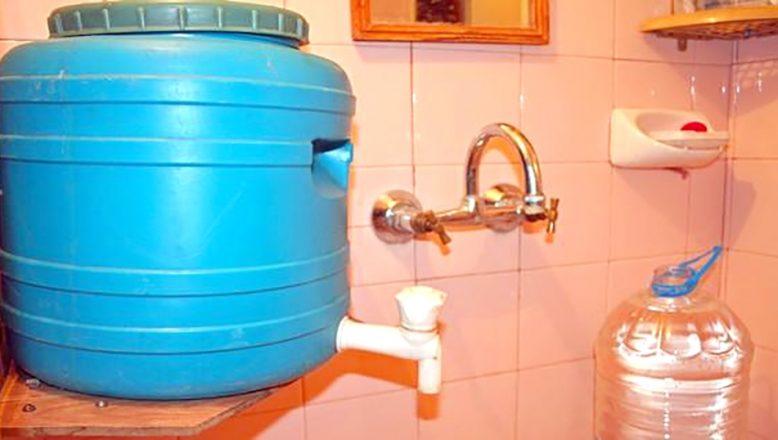 Binlerce kişi su kesintisi rejiminden mağdur