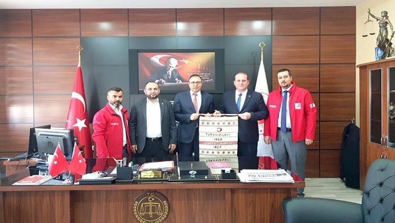 Başsavcısı Yiğiter'i ziyaret ettiler