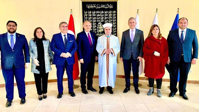 Bulgaristan Başmüftülüğü'nü ziyaret ettiler
