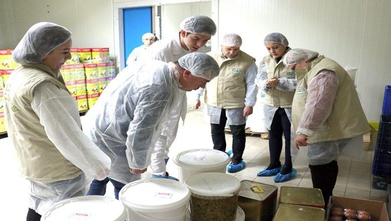 Süt ürünleri tesisleri denetlendi