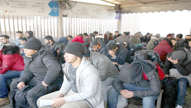 Edirne'de bu yıl 123 bin 377 düzensiz göçmen yakalandı