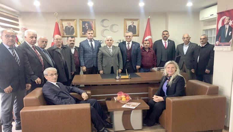 Helvacıoğlu'ndan AK Parti ve MHP ziyareti