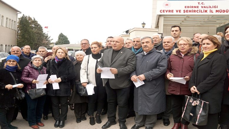 CHP'lilerden ÇED itirazı