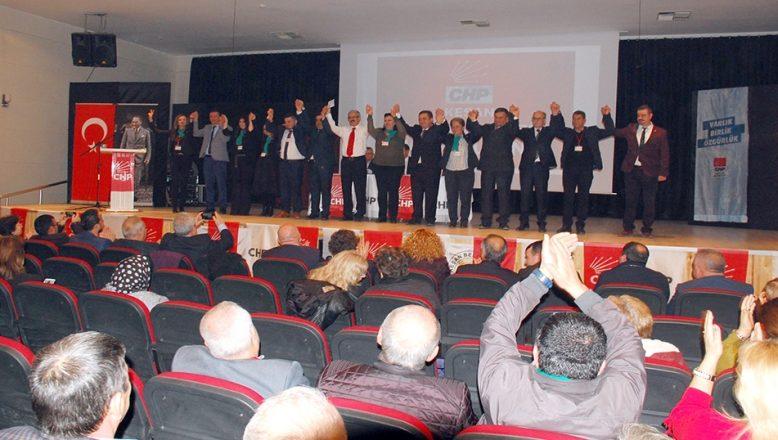 CHP Keşan İlçe Başkanlığına Recep Pekcan seçildi