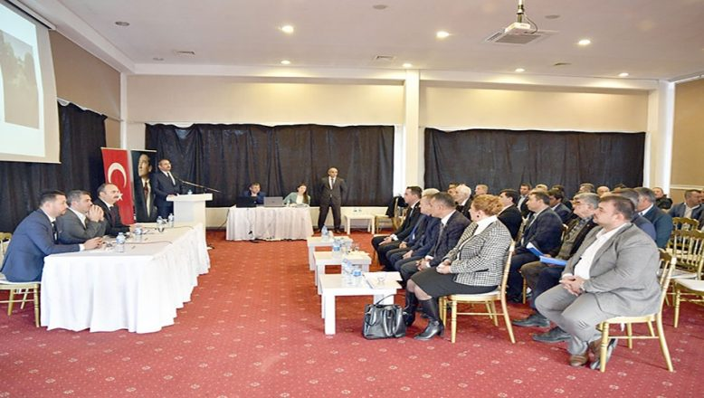 KHGB Meclis toplantısı yapıldı