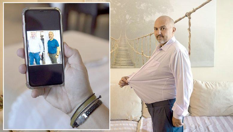 Obezite merkezinde 6 ayda 30 kilo verdi