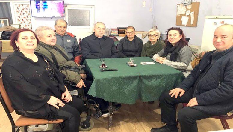 Saadet'ten Engelli Derneklerine ziyaret