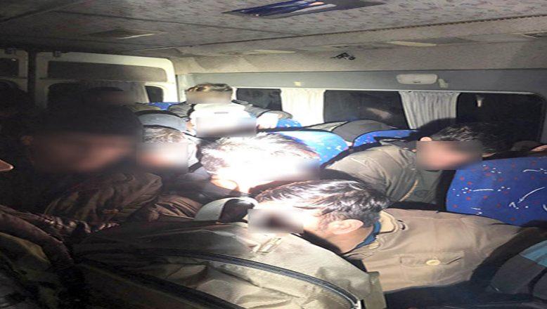 Düzensiz göçmenler yakalandı