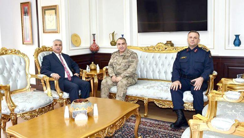 Tümgeneral Halis Zafer Koç'tan ziyaretler