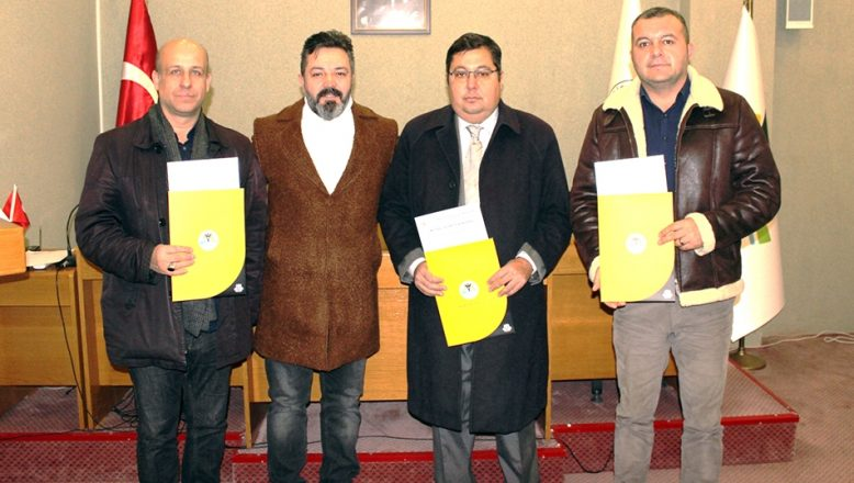 Emlak danışmanlarına yetki belgeleri verildi