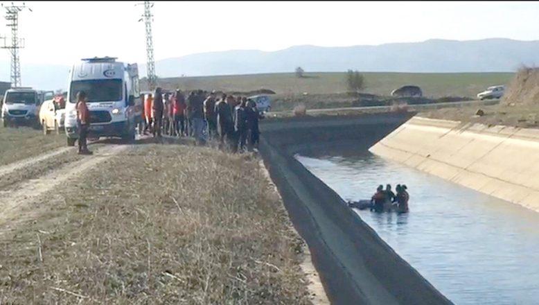 Aracı su kanalında bulunan avukattan acı haber