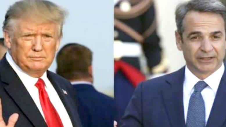 Trump, Miçotakis ile görüşecek