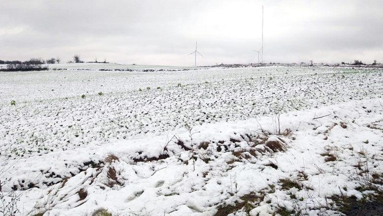Hayrabolu'da kar yağışı başladı