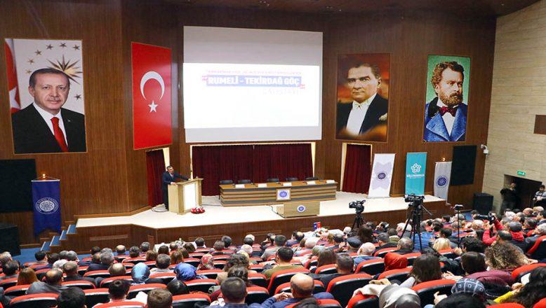 'Rumeli-Tekirdağ Göç Çalıştayı' düzenlendi