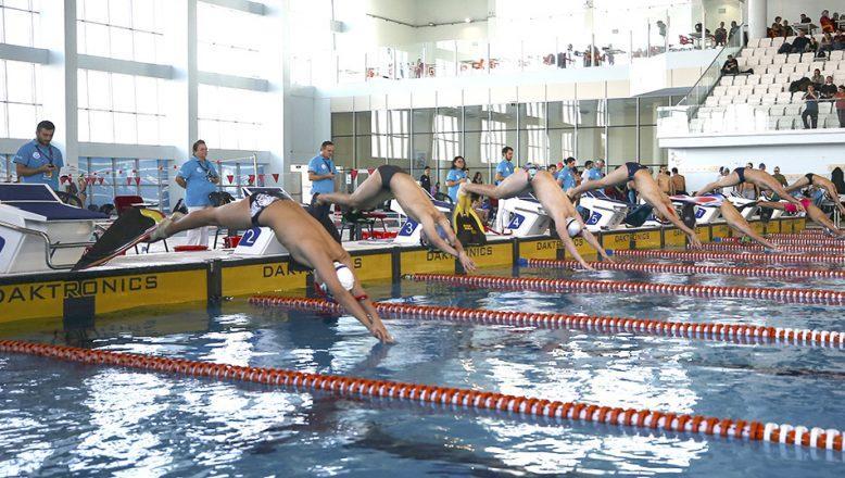 Türkiye Paletli Yüzme Bireysel Açık Yaş Kış Şampiyonası yapıldı
