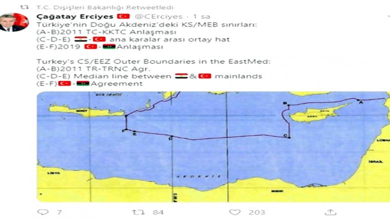 Türk diplomatın paylaşımı, Yunan basınını ayağa kaldırdı