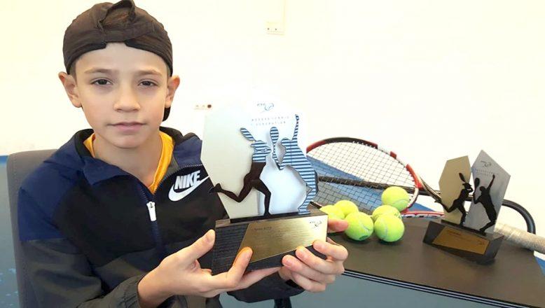 Tenis'te yılın sporcusu seçildi