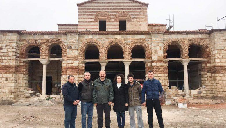 Vali Canalp, Tarihi Fatih Camii'nde incelemelerde bulundu