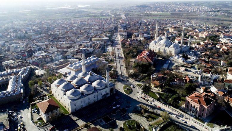 """""""Sultanlar şehri"""" Edirne turistlerin gözdesi oldu"""
